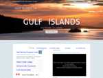 GulfIslands. ca - Gulf Islands BC, Salt Spring Island, Pender, Mayne, Galiano, British Columbia