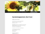 Gynekologipalvelu Ala Fossi