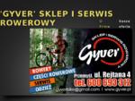 Gyver. pl - Sklep serwis rowerowy, Rejtana 4, Przemyśl, Gyver Dariusz Gałęza
