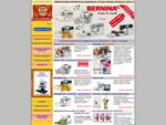 Hafciarki komputerowe i maszyny hafciarskie BERNINA. Programy do haftowania. PROMOCJE! FUNDUSZE UE