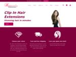 Clip In Hair Extensions - Shop and Buy Online
