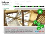 Hakvoort Daglicht - voor optimaal welzijn - lichtstraat, lichtstraten, daglichtconstructies en ..
