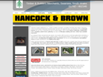 HANCOCK BROWN TIMBER IMPORTERS, uPVC CENTRE BUILDERS MERCHANTS SWANSEA