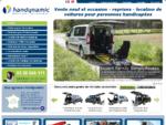 Handynamic, vente et location de voitures handicap et TPMR pour personnes handicapées | ...