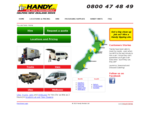 Home Handy Rentals - utilities, vans and truck hire
