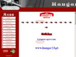 Página da Associação Aeronaútica Hangar 13