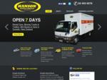 Rental Cars, Moving Trucks Trailers, Mini Buses Vans | Dunedin, New Zealand - Hanson Ren