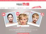 HappyHair - Najnovšie úèesy, vlasy a strihy (galérie, virtuálny kaderník... )