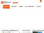 Varax   Puutarhakalusteet - Pihatuotteet - Kiinteistökalusteet - Huonekalut