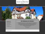 Urlaub im Hotel Haus Prinz - Bad Harzburg