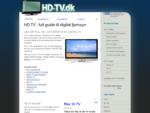 HD TV - full guide til digital fjernsyn