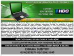 riparazione pc ricambi Hp, Toshiba, Acer, Ibm, Lenovo, Sony Vaio, Dell