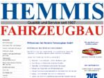 Startseite - Hemmis Fahrzeugbau GmbH