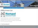 Hempel bautechnik - hempel-bautechniks Webseite!