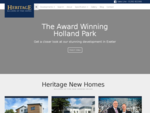 New Homes for Sale in Devon - Builders of aspirational new homes and apartments in Devon - Heritage ...