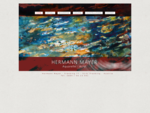 Hermann Mayer Franking Aquarelle Acryl