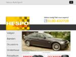 Hespo Autosport | Welkom