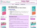 Dukan Dieet - De officieuml;le Dukan Dieet website