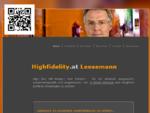 Audio High Fidelity HiFi Mag. Klaus Leesemann, High End-Anlagen, Klagenfurt am Wörthersee