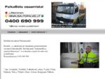 Hinausautopalvelut J. Nieminen | Hinaus, Hinaukset, Hinauspalvelu, Hinausautot | Tampere | Pi