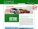 Cheapest Deals Auckland Car Rental Company | ALTERNATIVE Rental Cars