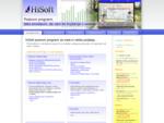 HiSoft poslovni programi za mala in velika podjetja...