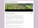Historic Scottish Gardens