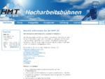 HMT AG, Oberentfelden Hocharbeitbhnen