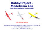 HobbyProject - Loja de aeromodelismo e modelismo