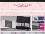 Das Kartenstudio --- Hochzeitskarten, Einladungskarten und Accessoires für die schönsten Momente im