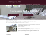 Velkommen til Holmegaard Bed and Breakfast