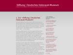 at Stiftung | Deutsches Holocaust-Museum