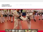 Holstebro Karate Skole - træn karate i Holstebro og kom i god fysisk form