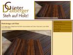 Startseite | Günter Daxberger | Holzteppiche | Holzaccessoires | Tischlerie
