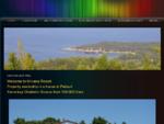 Buy a new house villa- in Greece. Traditional villas by the Mediterranean Sea