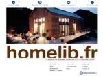 homelib. fr la maison en bois BBC pour les auto constructeurs
