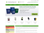 homerecycling.co.uk - Recycling Bins for the home and office