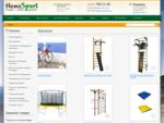 Интернет-магазин Homesport. Производство и продажа шведских стенок и велопарковок. Спортивный ..