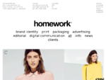 Homework - creative studio - homework