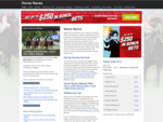 Horse Racing - Covering all AU, UK, HK Horse Races - Betting & Tips