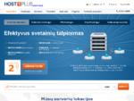 Hostingas, VPS, cloud serveriai, dedikuoti serveriai - HOST1PLUS