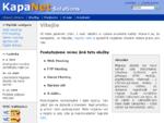 KapaNet Solutions - IT služby na míru
