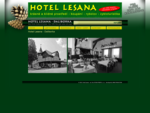 Hotel Lesana - Daliborka Krásné a klidné prostředí - koupání - rybolov - cykloturistika
