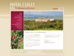 Hotel I Lecci Villanovaforru Sardegna » Hotel
