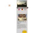 Site officiel Hocirc;tel ** de la Mer agrave; Blonville Deauville, hocirc;tel traditionnel ...