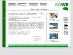 HOWE GmbH | Herzlich Willkommen