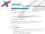 HPAA   Helicopter Pilot Association Austria   Willkommen
