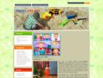 Zvukové hračky pro děti od 1 roku