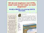HTML en websites maken moeilijk Snel de basis van HTML leren www. htmlkennis. nl is er voor jou.