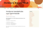 Hvidovre Karate Klub - Hvidovre Karate Klub